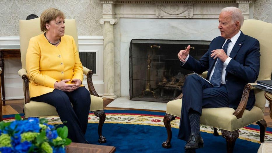 President Biden Hosts Visiting German Chancellor Merkel At The White House