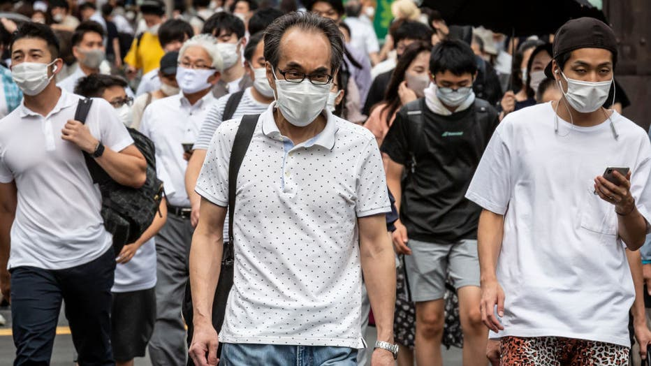 As First Week Of Olympics Draws To An End, Tokyo's Coronavirus Rates Soar