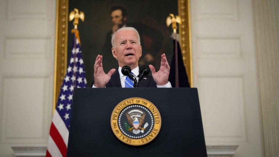 President Biden social media
