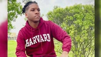 First black male valedictorian at his high school, headed to Harvard and hoping to encourage other young men
