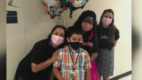 Houston-area 4th grader participating in Moderna pediatric COVID-19 vaccine trial