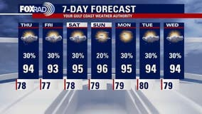 Wednesday evening weather forecast with Chief Meteorologist Dr. Jim Siebert