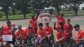 Local adaptive sports team hopes to bring home a big win later this week