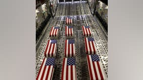 Ramp ceremony held for 13 US troops killed in Afghanistan attack