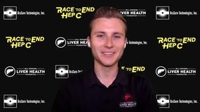 NASCAR driver Will Rodgers 'racing' to raise awareness about liver disease