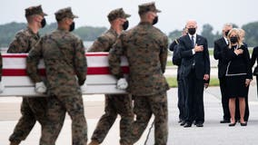 Biden, first lady pay respects to American troops killed in Afghanistan attack