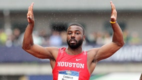 Family friend reacts to the death of University of Houston track star Cameron Burrell