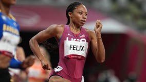 Allyson Felix makes Olympic track history with 10th career medal in Tokyo