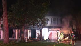 Two suffer severe burn injuries after Kingwood home catches fire, Arson investigators looking into cause