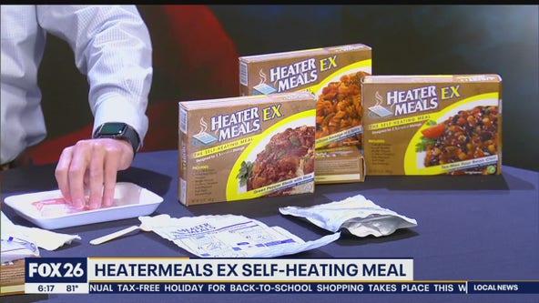 Hurricane Gear Test: Heater Meals Ex