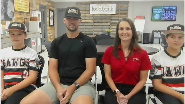 Little League team raises money for Montgomery Co. Food Bank