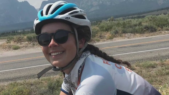 College grad survives cancer and rides her bike across the country to raise awareness