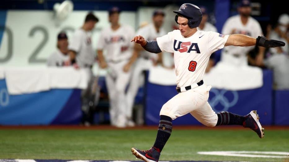 BASEBALL-OLY-2020-2021-TOKYO-KOR-USA