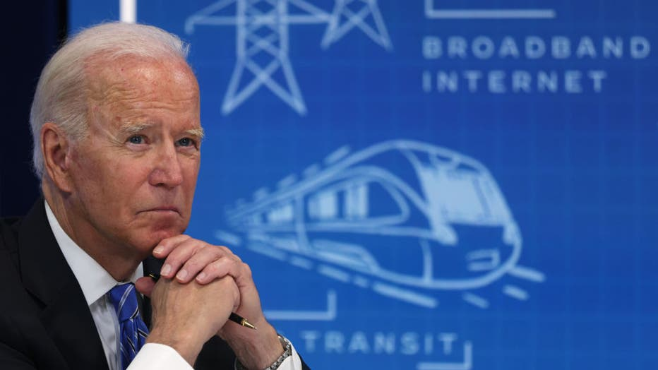 President Biden Virtually Meets With Local Officials To Discuss Infrastructure Investment