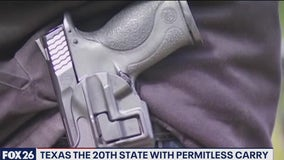 Permitless carry only one of several new gun laws in Texas - What's Your Point?
