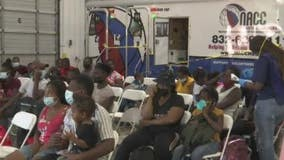Many seek to help as busloads of Haitians arrive in Houston