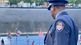 Houston fireman honors and remembers his twin, an NYC fireman killed on 9/11