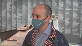Lone Star Flight Museum honors 9/11 victims and a Houston survivor