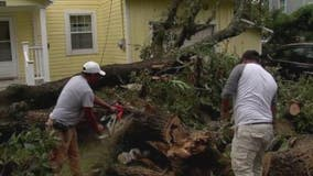 Communities north of Galveston cleaning up following Nicholas