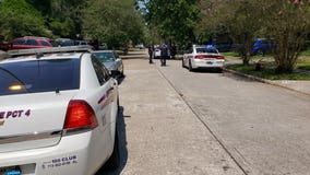 1 shot in N. Harris County and search underway for two gunmen, authorities say