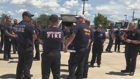 Houston-area firefighters to spend weeks helping in Louisiana following Hurricane Ida