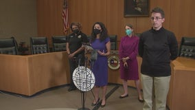Harris Co. Judge provides update on Hurricane Nicholas, proposed resolution to new abortion law