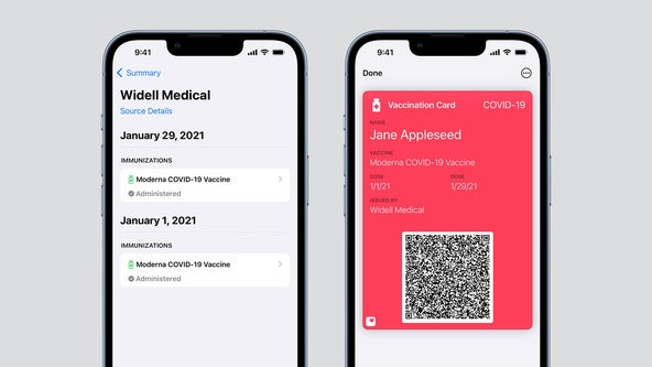 iPhone users will soon be able to add COVID-19 vaccination card to Apple Wallet