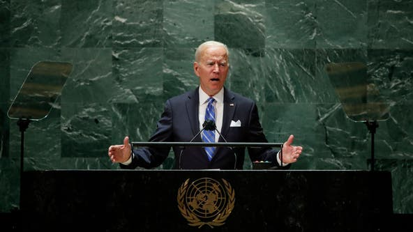 Biden says US 'not seeking a new Cold War' during UN address