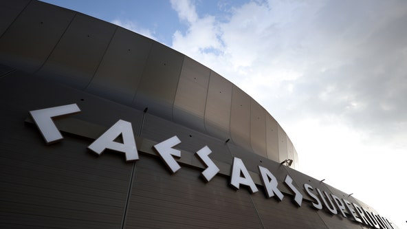 Fire erupts at Caesars Superdome in New Orleans