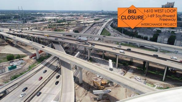 Southwest Freeway closing at West Loop again this weekend