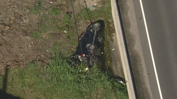 8-year-old child, mother in critical condition after rollover crash on FM 1960