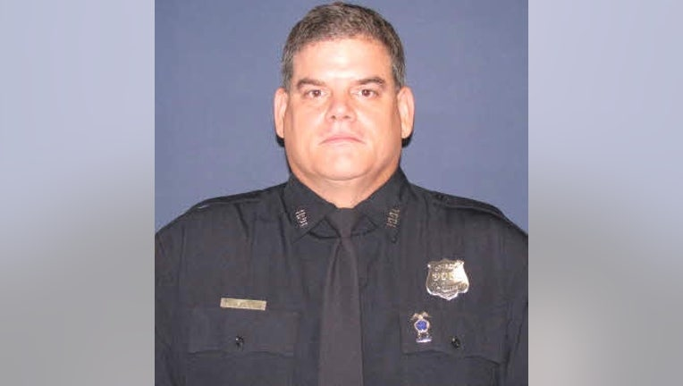 """Senior Houston Police Officer William """"Bill"""" Jeffrey was shot and killed while trying to serve an arrest warrant on Monday, Sept. 20, 2021."""