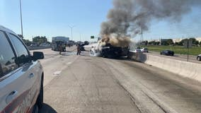 Authorities respond to 6-vehicle crash on North Sam Houston Tollway, no word on injuries