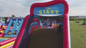 The Worlds Largest Bounce House is in Houston