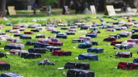 Behind the Backpacks: Exhibit to send silence packing around suicide, mental health