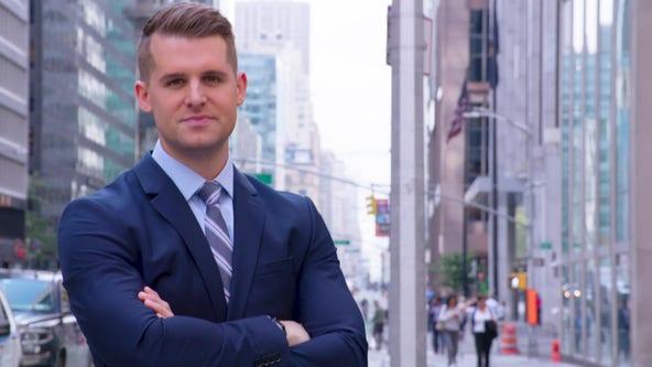 FOX 26's very own Meteorologist Stephen Morgan anchoring FOX Weather