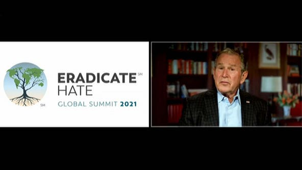 'We reject hatred': George W. Bush gives remarks at Eradicate Hate Global Summit