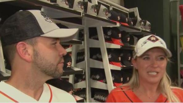 Astros fans remain optimistic following Game 1 World Series loss