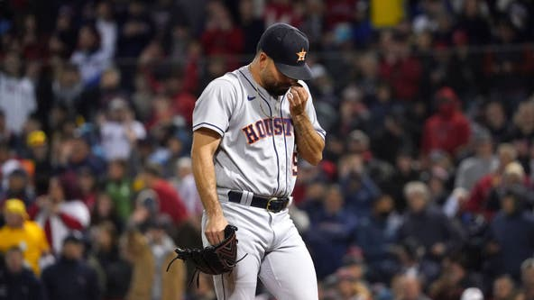 Astros scramble after pitchers pounded for 25 runs by Boston