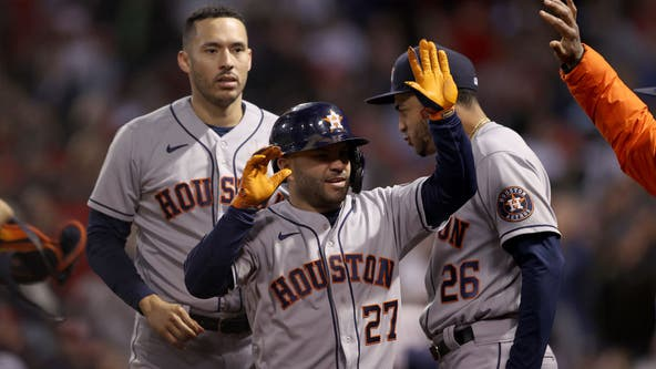 Astros win ALCS Game 4, series tied 2-2