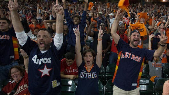 Astros fans flying to Boston for ALCS