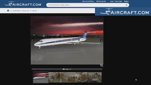 Jet crashes near Houston after decades of service