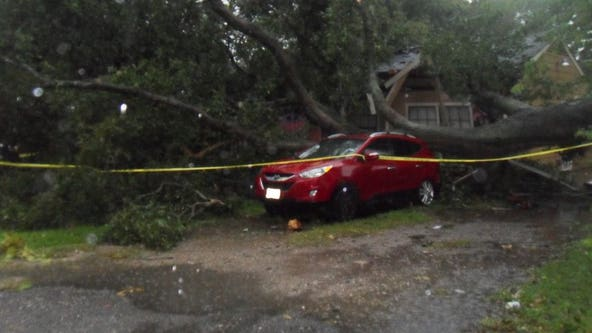 Morning storms prompt tornado watch, warnings across Houston area