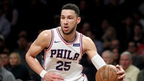 Ben Simmons to miss Sixers-Hornets game with shoulder injury