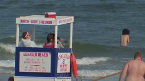 Swimmers warned about rip currents along Jersey Shore
