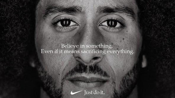 Colin Kaepernick's Nike commercial nominated for Emmy Award