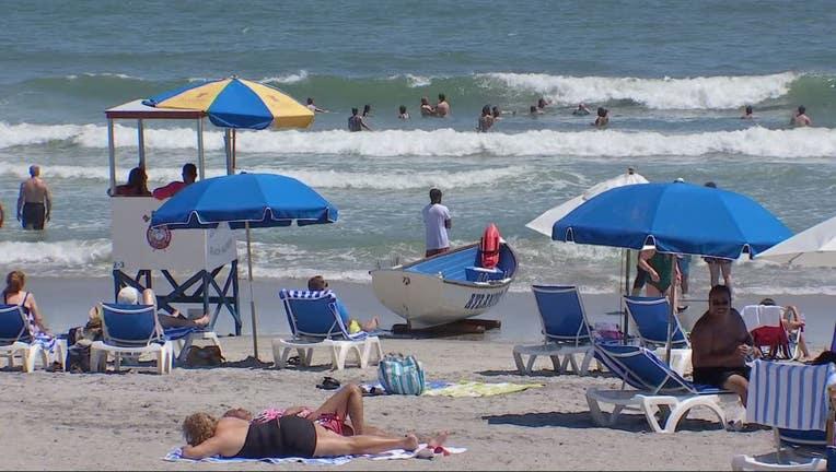 Beach in Atlantic City, New Jersey