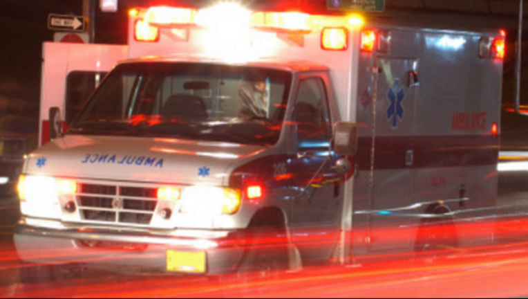 Rescue after boat capsizes on Delaware River.