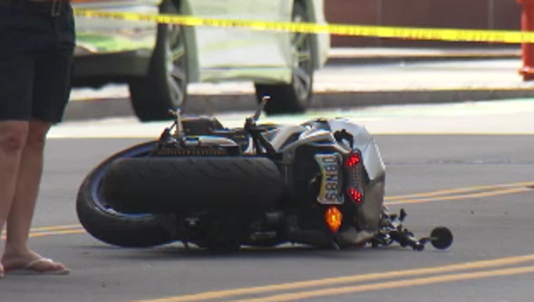 Police investigate fatal motorcycle accident in Center City | FOX 29
