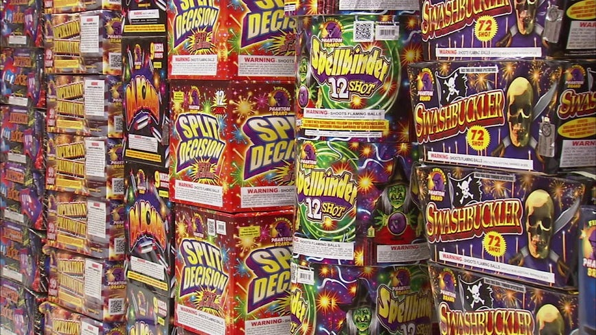 Illegal fireworks have become readily available to Philadelphia's youth